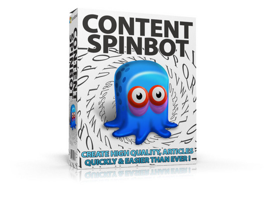 Product picture Content SpinBot: New Article Spinner Software w MRR