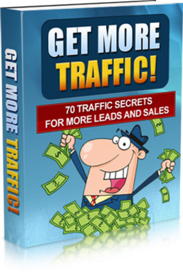 Product picture Get More Traffic: 70 Secret Traffic Methods Revealed + MRR