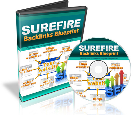 Product picture Surefire Backlinks BluePrint: Step By Step Video Course w RR
