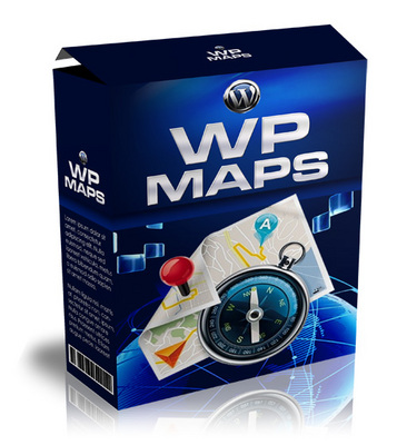 Product picture WP Maps: WordPress Plugin for Google Maps w MRR