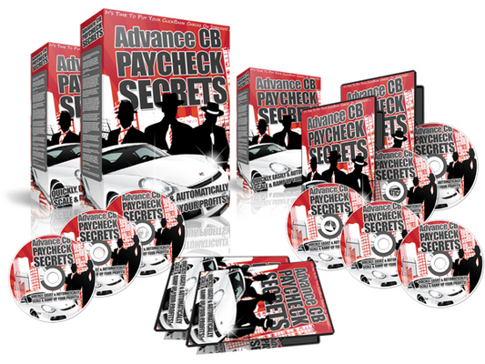 Product picture Advanced CB PayCheck Secrets - Clickbank Video Lessons w MRR