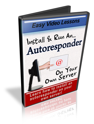 Product picture Install & Run An AutoResponder On Your Own Server - Videos
