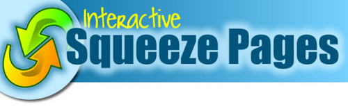 Product picture Interactive Squeeze Pages Software w Master Resell Rights