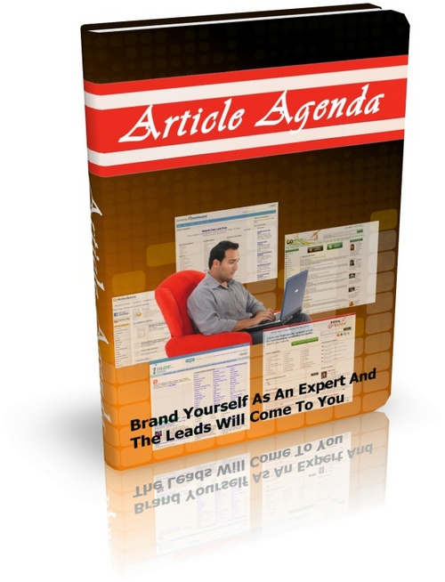 Product picture Article Agenda to Use Articles Effectively For Sales w MRR!