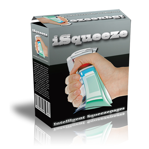 Product picture iSqueeze Intelligent Squeeze Page Software with MRR