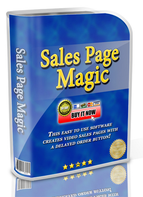 Product picture Sales Page Magic with Master Resale Rights!