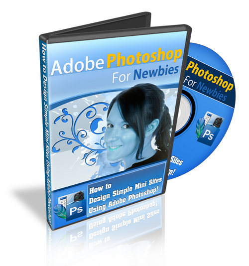 Product picture Adoble PhotoShop For Newbies - Video Tutorials w MRR