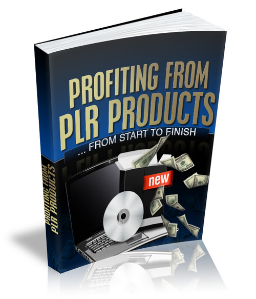 Product picture Profiting From PLR Products From Start To Finish w MRR