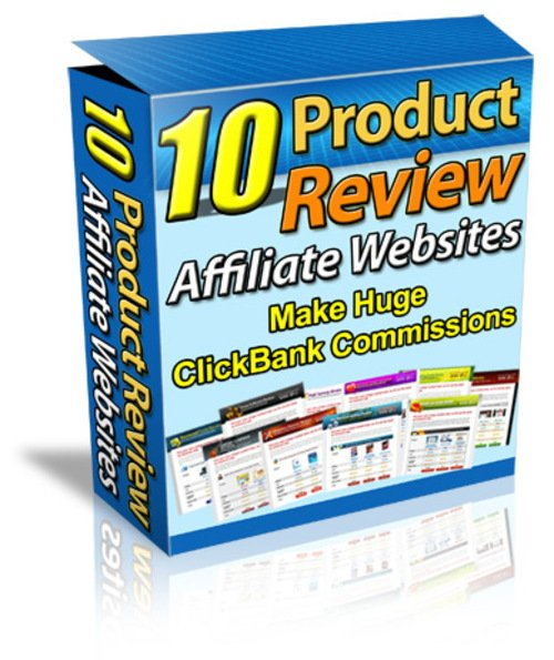 Product picture 10 Product Review Affiliate Websites with MRR