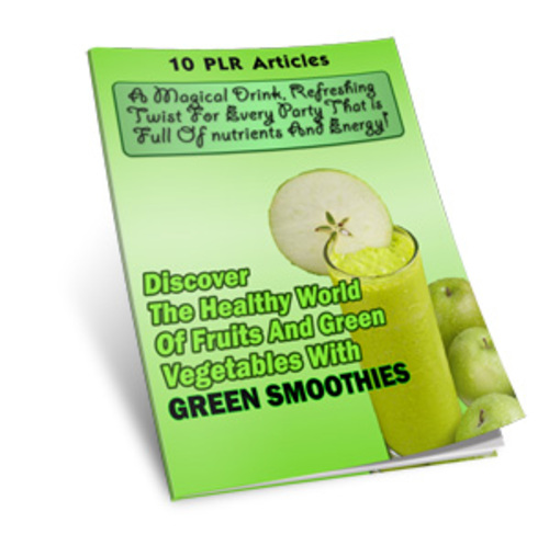 Product picture Green Smoothies eBook & Audio with MRR