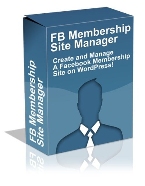 Product picture Facebook Membership Site Manager w MRR