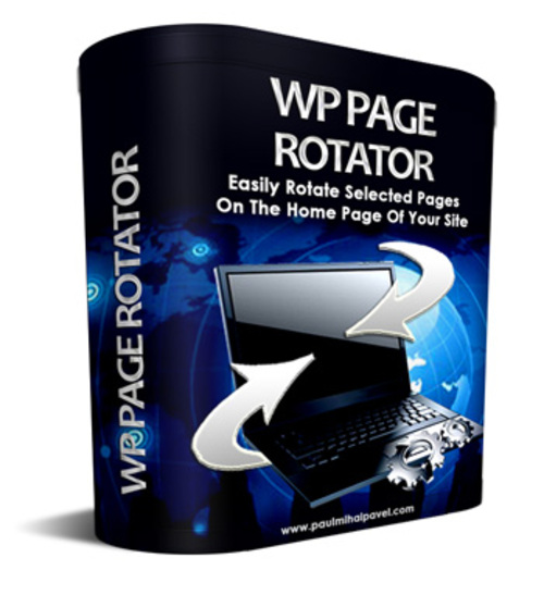 Product picture WP Page Rotator Plugin with Master Resale - Giveaway Rights