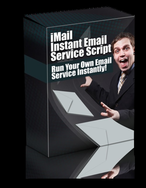 Product picture iMail Instant Email Service Script with Master Resell Rights