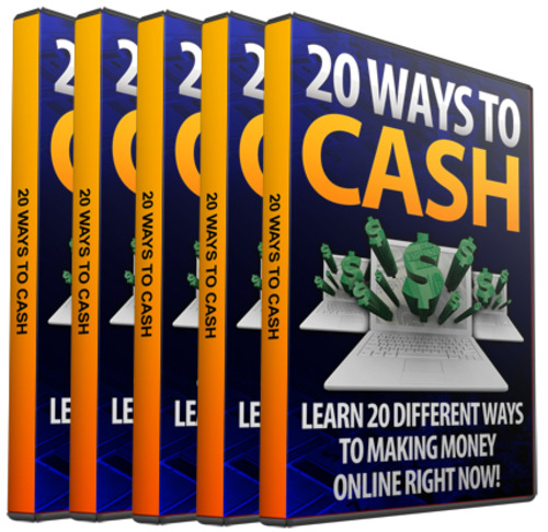 Product picture 20 Ways To Cash In Online Video Tutorials w MRR
