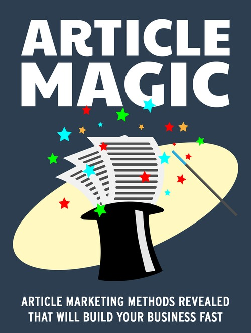 Product picture Turn Articles into Gold with Article Magic (MRR & Giveaway)