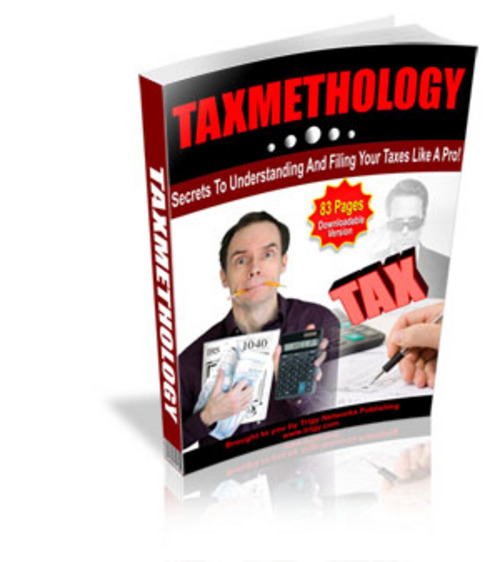 Product picture TaxMethology -Learn The  Basics Of Federal Income Taxes -MRR
