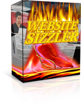 Product picture WebSite Sizzler! Easiest Way 2Get Content-Rich Websites PLR